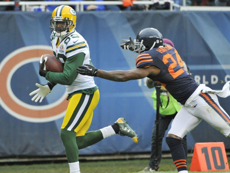 James Jones: Three touchdown receptions for the Packers