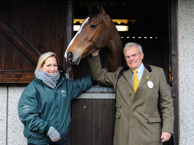 Laura Collett, Kauto Star and Clive Smith