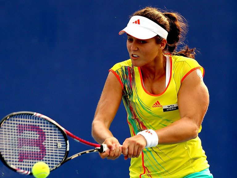 Laura Robson: Claimed victory with ease