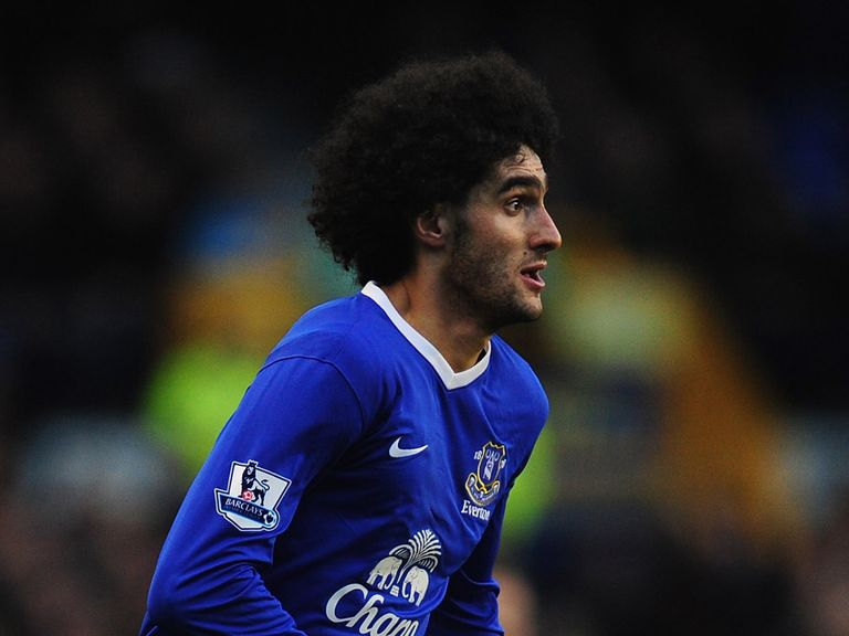 Marouane Fellaini: Has been linked with Chelsea