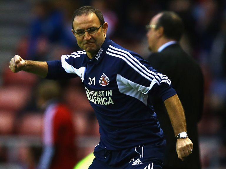 Martin O'Neill: Work to do at Sunderland