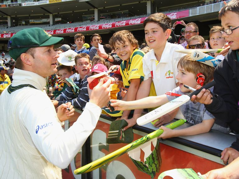 Michael Clarke's Australia tour India in the new year