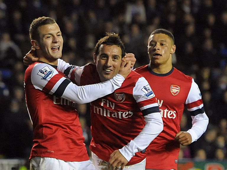 Cazorla: Settled at Arsenal