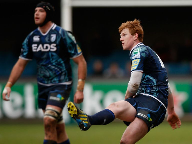 Rhys Patchell: Kicked four penalties