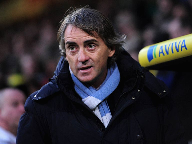 Roberto Mancini: Pleased his side kept going