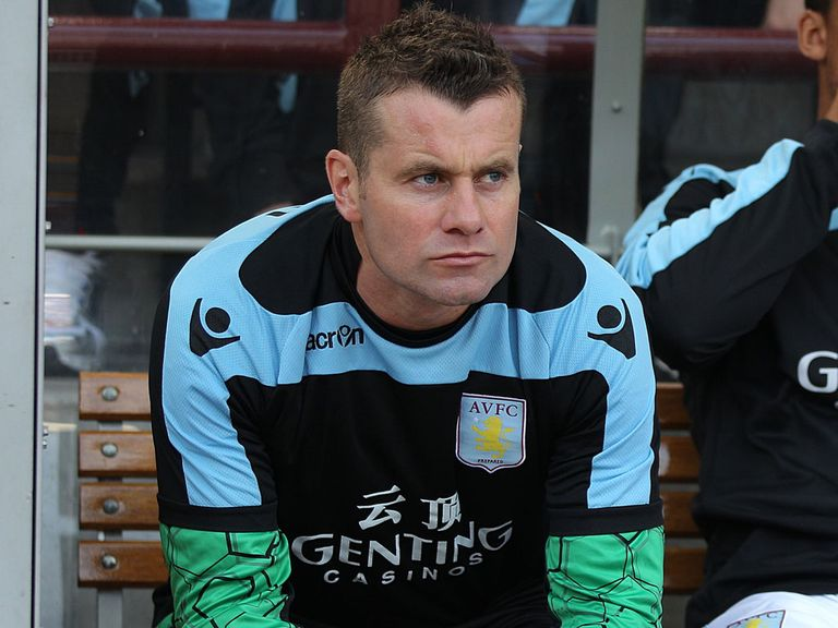 Shay Given: Playing second fiddle to Guzan