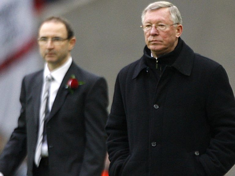 Sir Alex Ferguson: Support for O'Neill