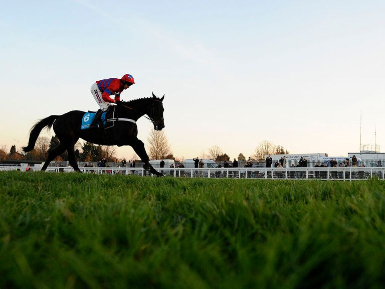 Sprinter Sacre: Won the Tingle Creek at ease