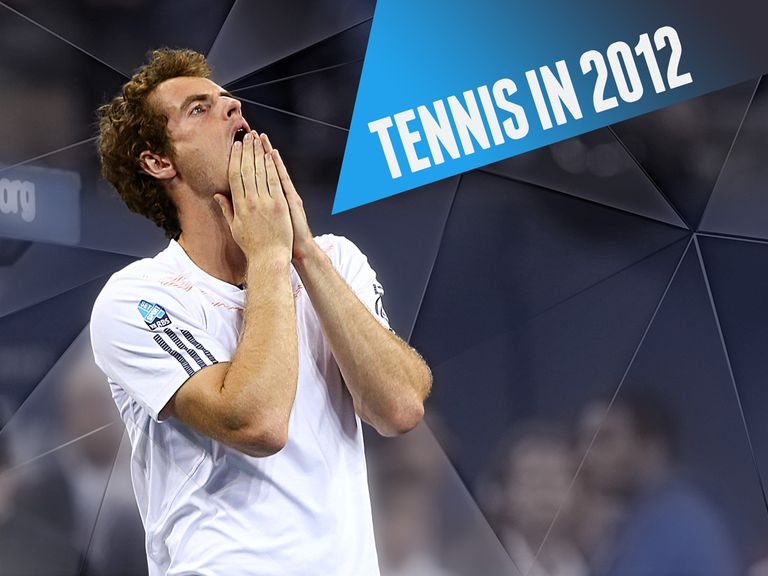 Andy Murray had a year to remember in 2012