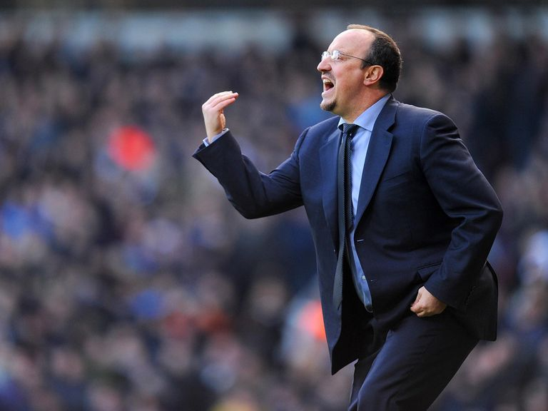 Rafa Benitez: Under pressure at Chelsea