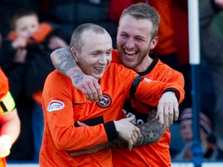 Willo Flood: Netted for Dundee United