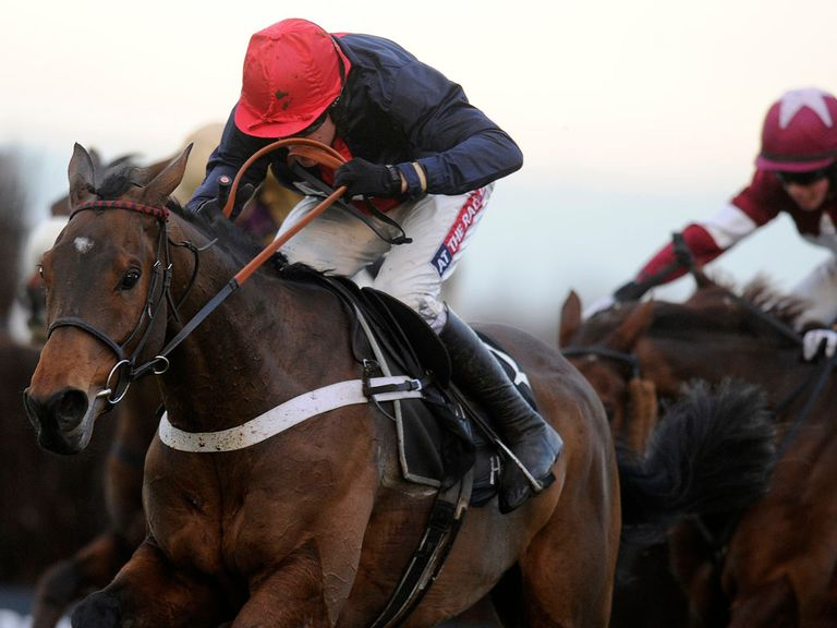 Bobs Worth: Laid down the gauntlet to Gold Cup rivals