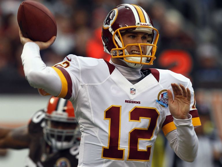 Kirk Cousins: Made sure the Redskins didn't slip up