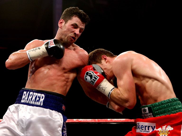 Darren Barker was too strong for Kerry Hope