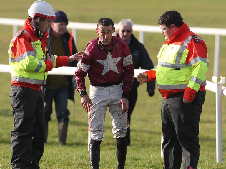 Davy Russell: In the wars at Navan
