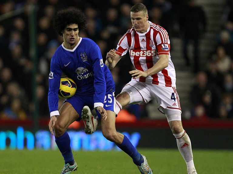 Marouane Fellaini: Issued apology over incident