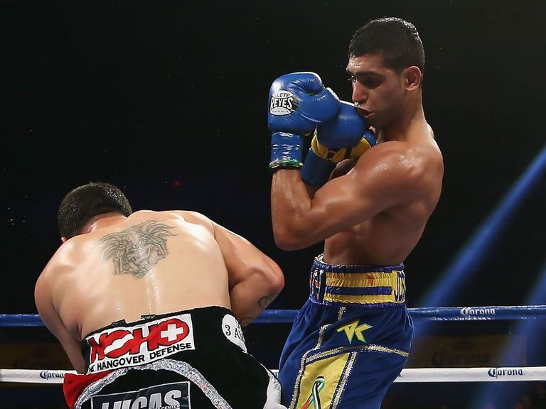 Amir Khan: Now wants rematch with Garcia