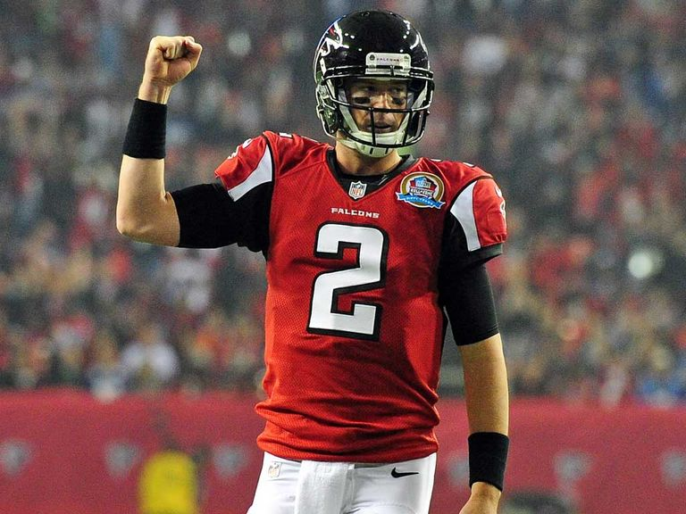 Matt Ryan: Three touchdown passes for Atlanta Falcons