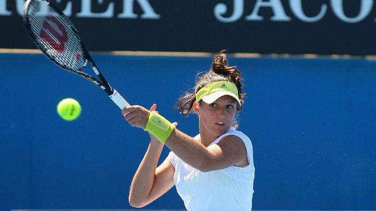 Laura Robson: Recorded an impressive win in Melbourne