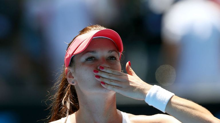 Agnieszka Radwanska: Progressed in straight sets