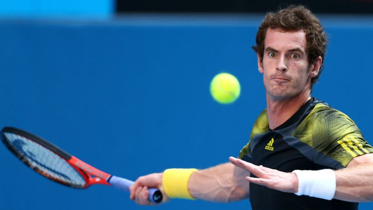 Andy Murray: Won in three sets to advance to last eight