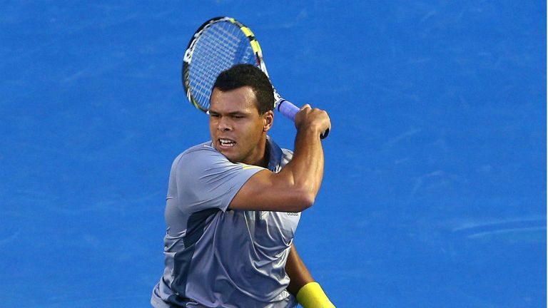 Jo-Wilfried Tsonga: Through to Marseille semi-finals