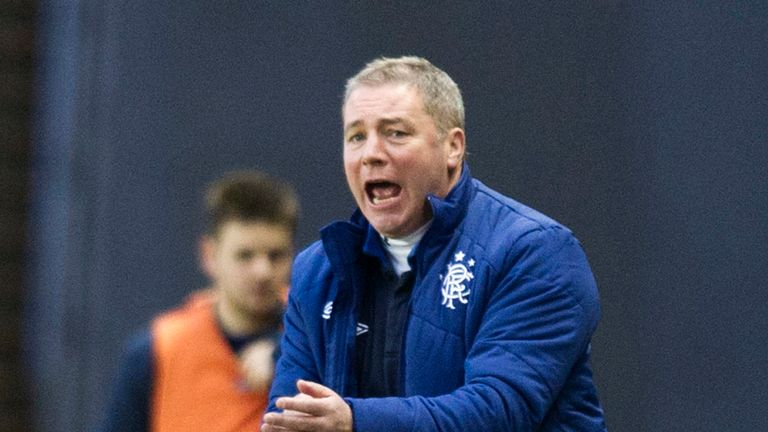 Ally McCoist: Thrilled with response to cup exit