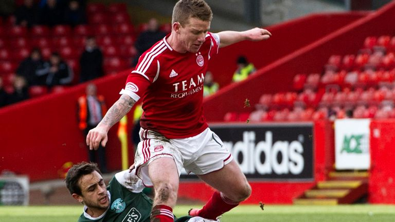 Aberdeen v Hibs: Goalless draw at Pittodrie