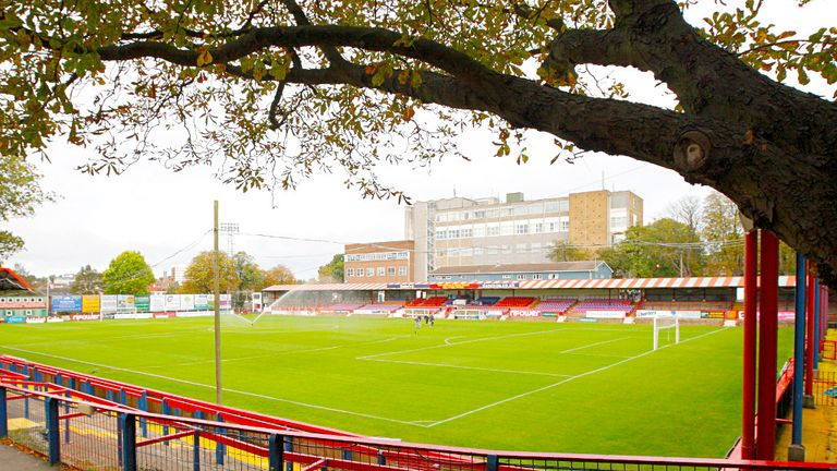 The EBB Stadium: The home of Aldershot Town