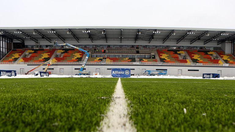 Allianz Park: Saracens hoping to host their Heineken Cup quarter-final at the new Barnet ground