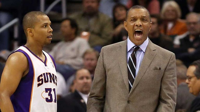 Alvin Gentry: Sacked after four years as Suns coach