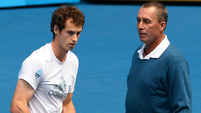 Andy Murray and Ivan Lendl: targeting a trophy again for the first time since Australia