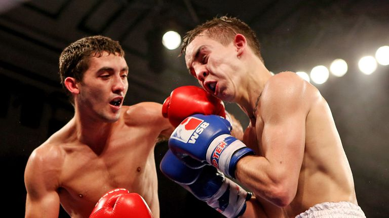 Andrew Selby: won a five-round flyweight war against great rival Michael Conlan