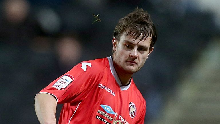 Andy Taylor: Happy with his goal