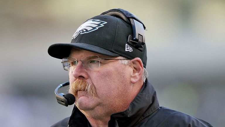 Andy Reid: Kansas City's new head coach after 14 seasons with the Eagles