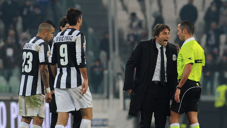 Antonio Conte: Two-match ban for his outburst