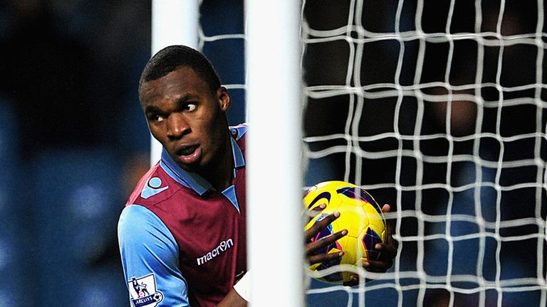 Benteke: Has scored or assisted in 53 per cent of Villa's goals this season
