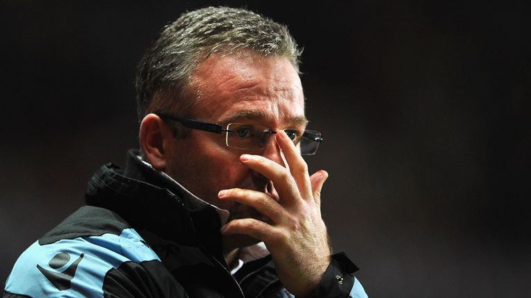 Paul Lambert: Felt his team had a good go at the Premier League champions