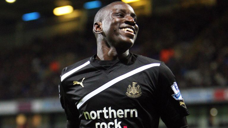 Demba Ba: Set to secure a move from Newcastle to Chelsea