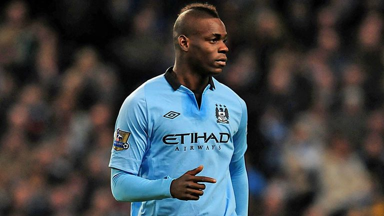 Mario Balotelli: Has made just two appearances for Manchester City this year