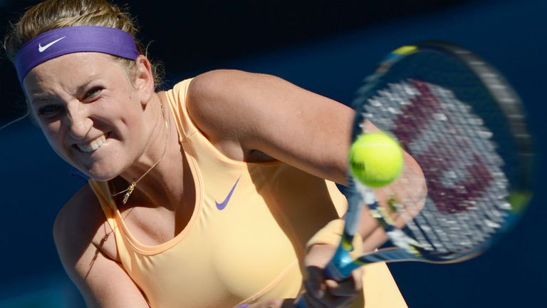 Victoria Azarenka: Under fire following her semi-final win over Sloane Stephens