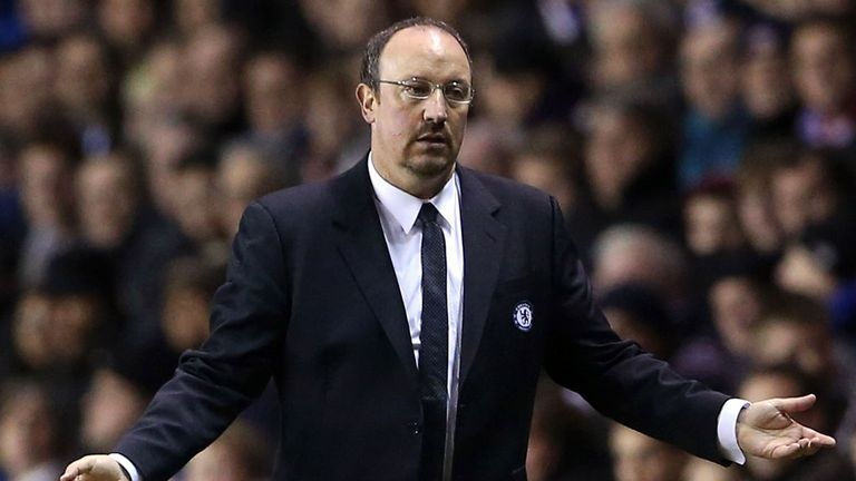Rafael Benitez: Interim Chelsea boss whose contract expires at the end of the season