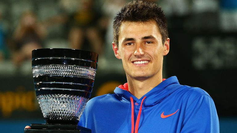 Bernard Tomic: Won his first ATP Tour title in Sydney