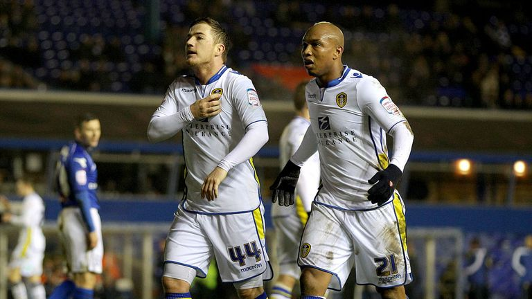 Ross McCormack (left): Scored only goal for Leeds