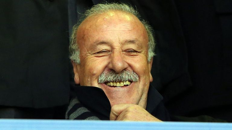 Vicente del Bosque: Signs Spain contract extension