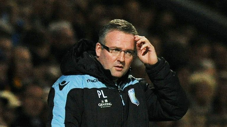 Paul Lambert: Aston Villa boss plans to strength side during the transfer window
