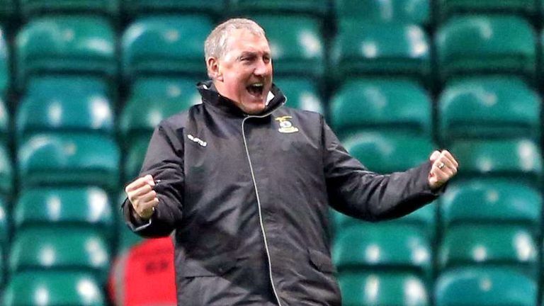 Terry Butcher: Wants to lead Inverness to the League Cup final
