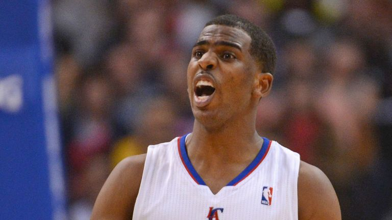 Chris Paul: helped himself to 30 points and 13 rebounds in Friday's win over the Lakers