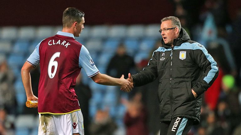 Ciaran Clark will be assessed ahead of Villa's trip to Norwich