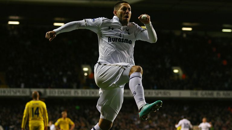 Clint Dempsey: Happy with his own form as he targets second spot